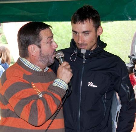 Luis Alberto Hernando, primer ganador Km Vertical Fuente De