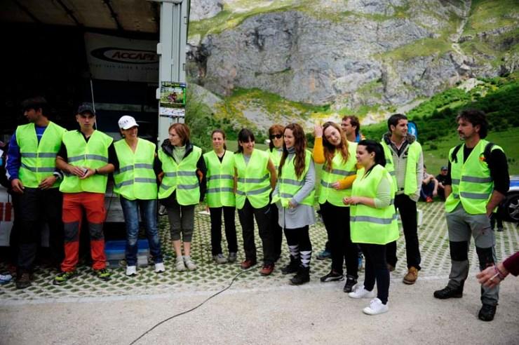 Voluntarios Km Vertical Fuente Dé