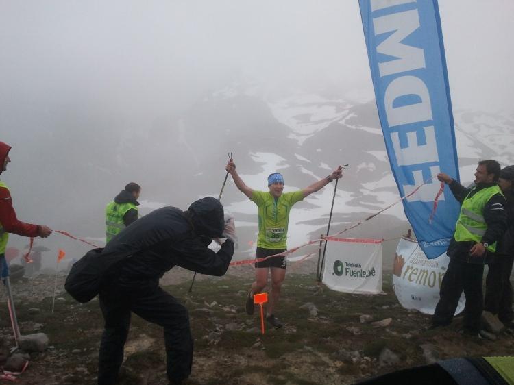 Íñigo Lariz, campeón IV Km Vertical® Fuente Dé