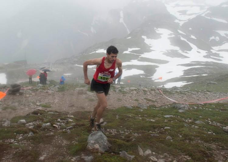 Javier Crespo 3º en km vertical fuente de 2013