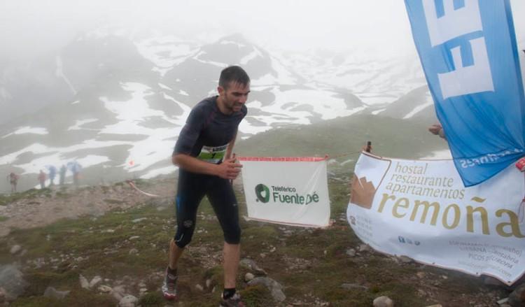 Javier Gutiérrez 2º clasificado km vertical fuente de 2013