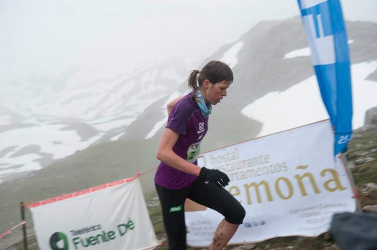 Laura Orgué campeona km vertical fuente de 2013