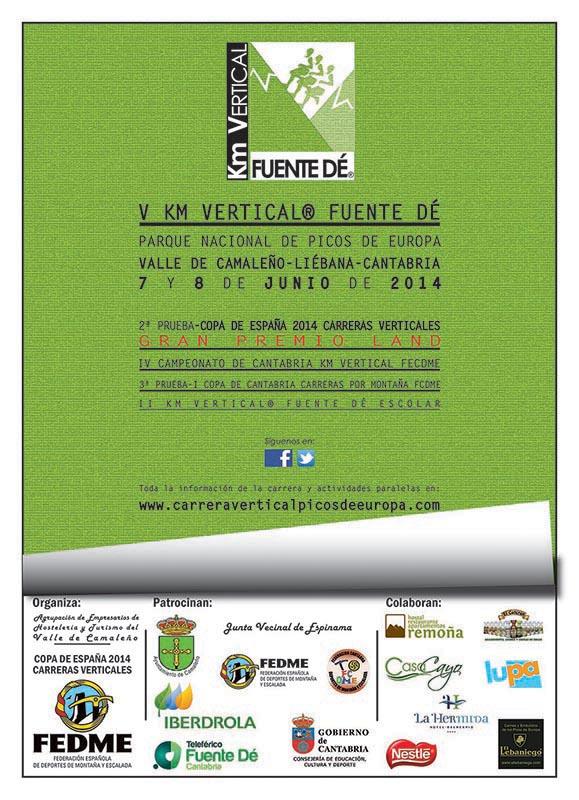 Cartel V Km Vertical® Fuente De 2014
