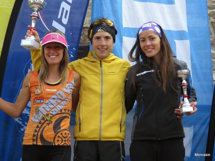 Azara García, Maite Maiora y Vanessa Ortega