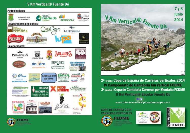 Programa V Km Vertical® Fuente Dé 2014