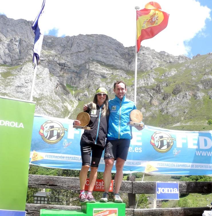 Iñigo Láriz y Azara García campeones V Km Vertical® Fuente Dé 2014
