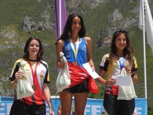 (4) Junior femenino