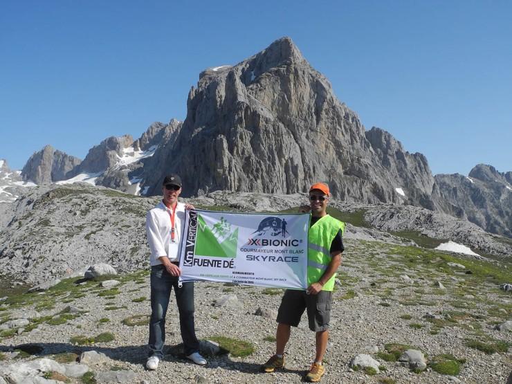 Hermanamiento Km Vertical® Fuente Dé-Courmayeur Mont Blanc en Picos de Europa