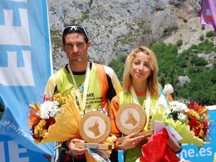 Jessed Hernández y Paula Cabrerizo campeones España Km Vertical 2015