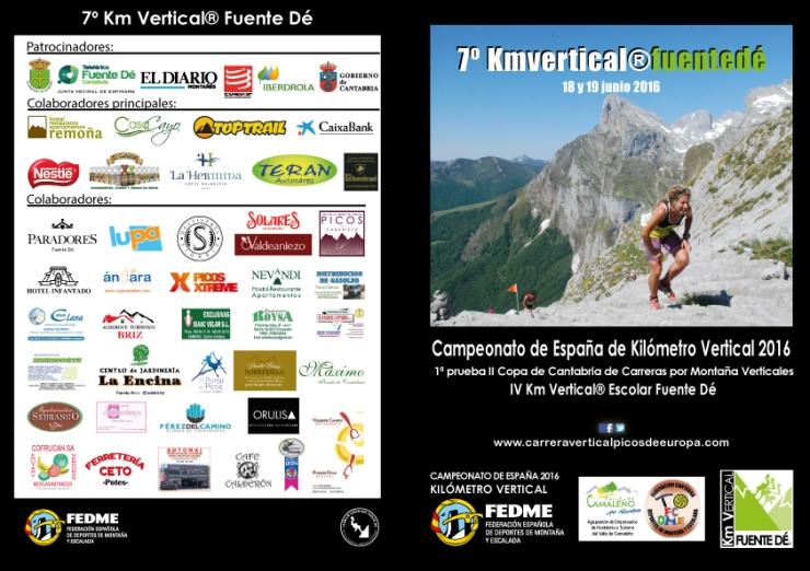 Programa Km Vertical® Fuente Dé 2016